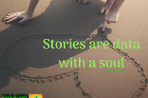 Stories are data with a soul